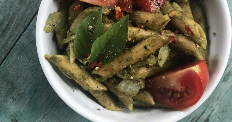Rainbow Chard & Sunflower Seed Pesto