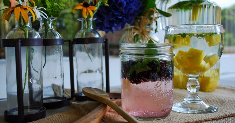 Summertime Hydration: Fruit-Infused Refreshers