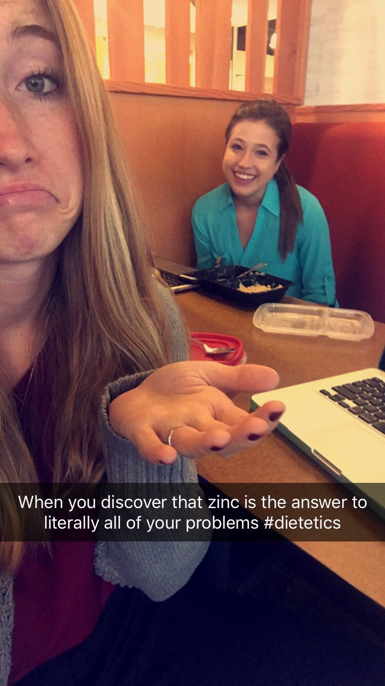 Zinc is the answer